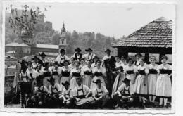 AK 0325  Salzburger Gebirgstrachten -Verien Alpinia Salzburg / Foto Zupancic Um 1950 - Trachten