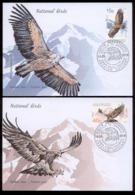 Abkhazia 2019 Europa SEPT National Birds 2FDC №62 Only 100pcs - Sonstige - Europa