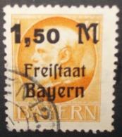 N°345E TIMBRE ANCIENS - ETATS BAYERN OBLITERE - Bavière