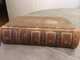 LA PECHE ET LES POISSONS H DE LA BLACHERE DICTIONNAIRE DES PECHES EDITION ORIGINALE DE 1868 - Livres, BD, Revues
