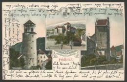 Austria------Feldkirch------old Postcard - Feldkirch