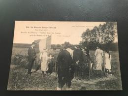844 -  La Grande Guerre 1914-15 Bataille De L'Ourcq - Tombes Dans Les Champs Près De BARCY - Guerre 1914-18