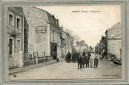 CPA - BONNAT (23) - Aspect De La Grand'Rue Au Début Du Siècle - Autres Communes