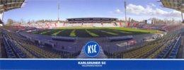 STADIUM POSTCARD ESTADIO STADION STADE STADIO KARLSRUHE - Stadiums