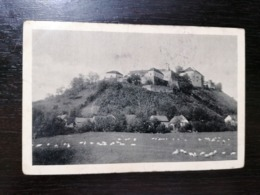 MUKACEVO UKRAINE - HRAD - TRAVELLED 1938 - Ukraine