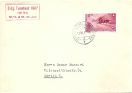 "Sonderstempel  ""Eidg. Turnfest Bern""           1947 - Svizzera"