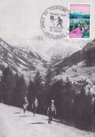 ANNEE DU TOURISME PEDESTRE/15/07/1972/FLORAC (PF1) - Cartes-Maximum