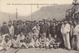 Toulon-Missiessy : Explosion Du Cuirassé Iéna : Groupe De Survivants  ///  REF  SEPT.  19  /// N° 9482 - Guerra