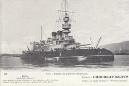 Flottede Guerre Française : Le Cuirassé Garde-cotes  Valmy    ///  REF  SEPT.  19  /// N° 9485 - Guerra
