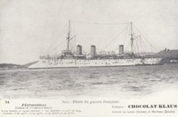 Flottede Guerre Française : Le Croiseur  D'Entrecasteaux      ///  REF  SEPT.  19  /// N° 9487 - Guerra