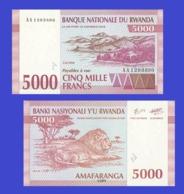 RWANDA 5000 FRANCS 1994 - Rwanda
