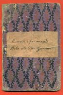 """CAVRIANA - CAIOLA GIOVANNI - """"MEMORIE  E FRAMMENTI DELLA VITA DI UN GIOVANE -  1866 - MANOSCRITTO DI 50 PAGINE - Libri, Riviste, Fumetti"""