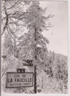 COL DE LA FAUCILLE (01) : AUBERGE DE LA VIEILLE FAUCILLE ENTRE MIJOUX ET GEX - SPORTS D'HIVER - ECRITE EN 1962 -z R/V Z- - Gex