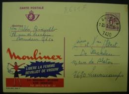 Publibels. 2641 F. Moulinex Libère La Femme - Stamped Stationery