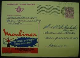Publibels. 2676 NF. Moulinex Libère La Femme. Francimex SA - Stamped Stationery