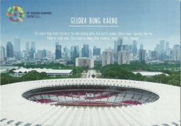 STADIUM POSTCARD STADIO STADE ESTADIO STADION JAKARTA - Stadiums