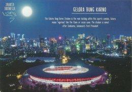 STADIUM POSTCARD STADIO STADE ESTADIO STADION JAKARTA - Stades