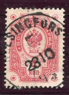 FINLAND 1891 Arms Of Russia With Circles 4 Kop. Used.  Michel 38 - 1856-1917 Administración Rusa