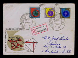 Thelephone Conference Interministerial Telecommunications Des Postes Des Pays Socialistes Fdc Antennes POLSKA Sp6177 - Post