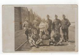 """Belgische Soldaten +/- 1917  """"Souvenir De Notre Séjour En Sibérie""""  Fotokaart - Guerre 1914-18"""