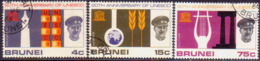 BRUNEI 1966 SG 144-46 Compl.set Used UNESCO - Brunei (...-1984)