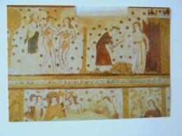 Moutiers En Puisaye. Eglise Saint Pierre. Adam Et Eve / Bapteme Du Christ (mur Sud). Association Les Amis De Moutiers - Andere Gemeenten