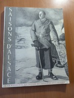 Saisons D'Alsace-De Lattre De Tassigny. 14-18. 39-45.  Wangenbourg... - 1901-1940