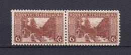Bosnia And Herzegovina - 1906 Year - Michel 33C Pair  - MH - Bosnia And Herzegovina