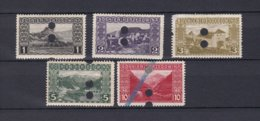 Bosnia And Herzegovina - 1906 Year - Michel 29/32+34 Out Of Use  - MH - Bosnia Herzegovina
