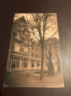 Ruiselede, Ruysselede, Kostschool O.L.V Der VII Weeën, Zicht In Den Hof  Gelopen 1919 - Ruiselede