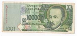 PARAGUAY 100000 GUARANIES P-219 - 1998 RARE ! - Paraguay