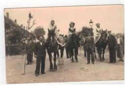 Schoten  Jubileum 50 Jarig Huwelijk Van Een Schotenaar In De Vandensteynstraat 1950  Fotokaart - Schoten
