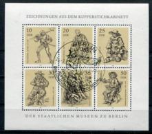 DDR Michel-Nr. 2347-2352 Kleinbogen Vollstempel - Blocks & Kleinbögen