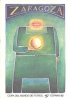 Sport FOOTBALL Copa Del Mundo De Futbol ESPANA 82 ZARAGOZA   LE DIEU DU STADE (CP 508 Maeght Et  Nouvelles Images  ) - Soccer