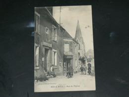 RILLE  /  ARDT  Chinon     1910 /  VUE  RUE ANIMEE & COMMERCES    ....  EDITEUR - Autres Communes