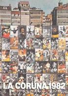 Sport FOOTBALL Copa Del Mundo De Futbol ESPANA 82 LA CORUNA 1982 Mosaïque De Portraits (CP 507 Maeght Nouvelles Images - Soccer