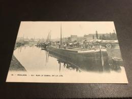 Roulers Rousselare Roeselare : Vue Sur Le Canal De La Lys ( Leie ) Péniche - H.Bertels N° 19 - Roeselare