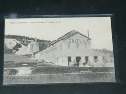 """ANCY LE FRANC     1910 /  VUE  USINE A CHAUX  """""""" F CAZEL """"""""  ..  EDITEUR - Ancy Le Franc"""