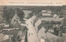 22 Plouaret Vue Générale Prise De La Route De Lanvellec - Plouaret