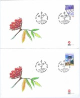 Greenland 2011, Europa - CEPT - Forests;  Set Of 2 On FDC - 2011