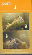 FINLAND, 2019, MNH, FOREST HIKE, FAUNA, 2v - Briefmarken