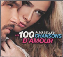Les 100 Plus Belles Chansons D'Amour En 5 CDs : Édition Française 2012 - Compilations