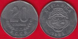 Costa Rica 20 Colones 1983-1996 Km#216 - Costa Rica