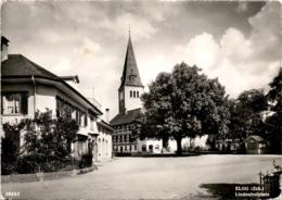 Elgg (Zch.) - Lindenhofplatz (26453) * 10. 10. 1960 - ZH Zurich