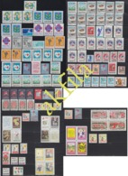 Yugoslavia 1984 Till 1991 Complete Surcharge Stamps, MNH (**) Michel 84-211 - Verzamelingen & Reeksen