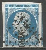 FRANCE - Oblitération Petits Chiffres LP 2489 PONT-A-MARCQ (Nord) - 1849-1876: Période Classique