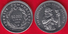 "Turkey 50 000 Lira 1999 Km#1103 ""FAO - Food Security"" UNC - Turkije"