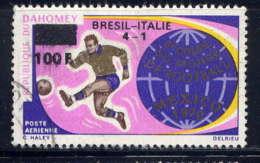 DAHOMEY - A129°  - FINALE DE LA COUPE DU MONDE DE FOOTBALL - Bénin – Dahomey (1960-...)