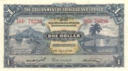 TRINIDAD E TOBAGO 1 DOLLAR 1942 PICK 5c VF+ - Trinidad En Tobago