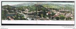 Postal Triplo Madeira 42,2 X 8,9cms - Funchal Panorama - Portugal - Madeira